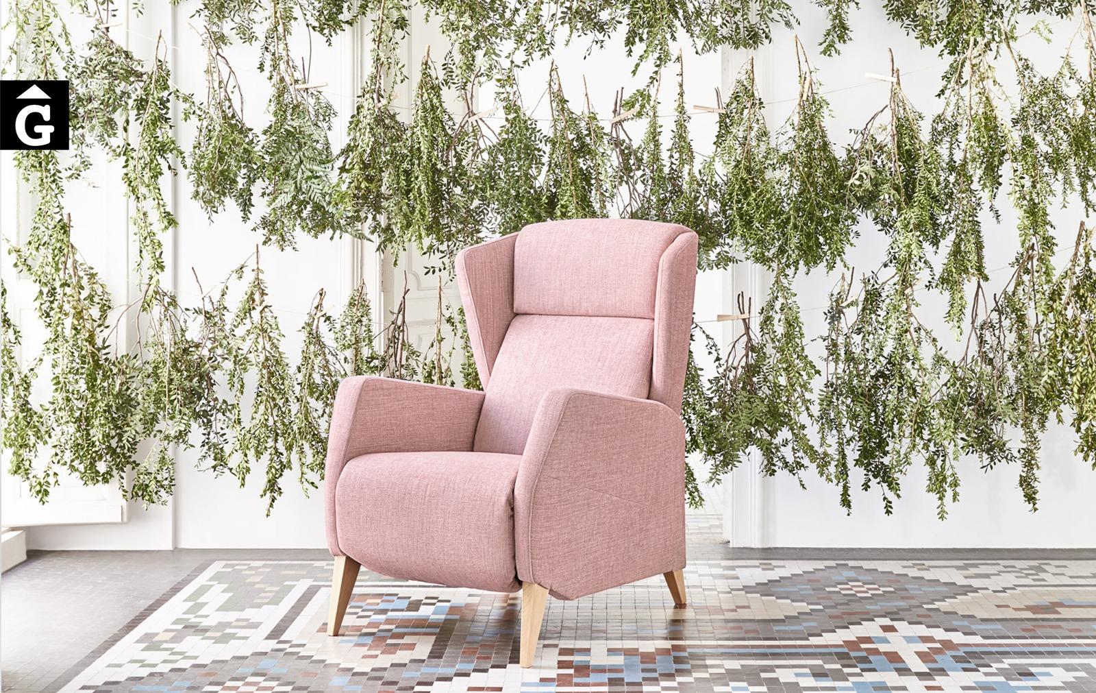 Butaca relax motor o manual Spok 1 Tajoma by mobles Gifreu tapisseria de disseny actual i classic relax butaques sillons