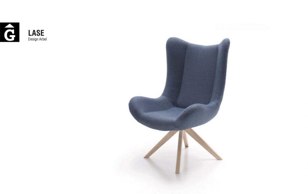 Lase potes fusta Frajumar by mobles Gifreu Girona tapisseria sofas sillons butaques de qualitat