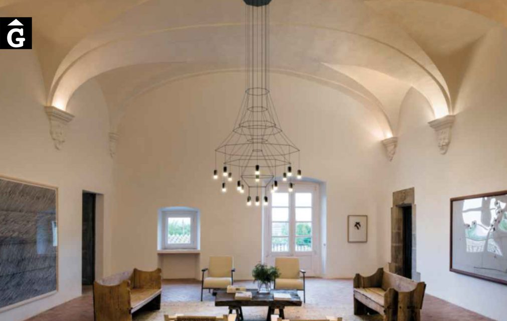 Wireflow Chandelier Vibia by mobles Gifreu