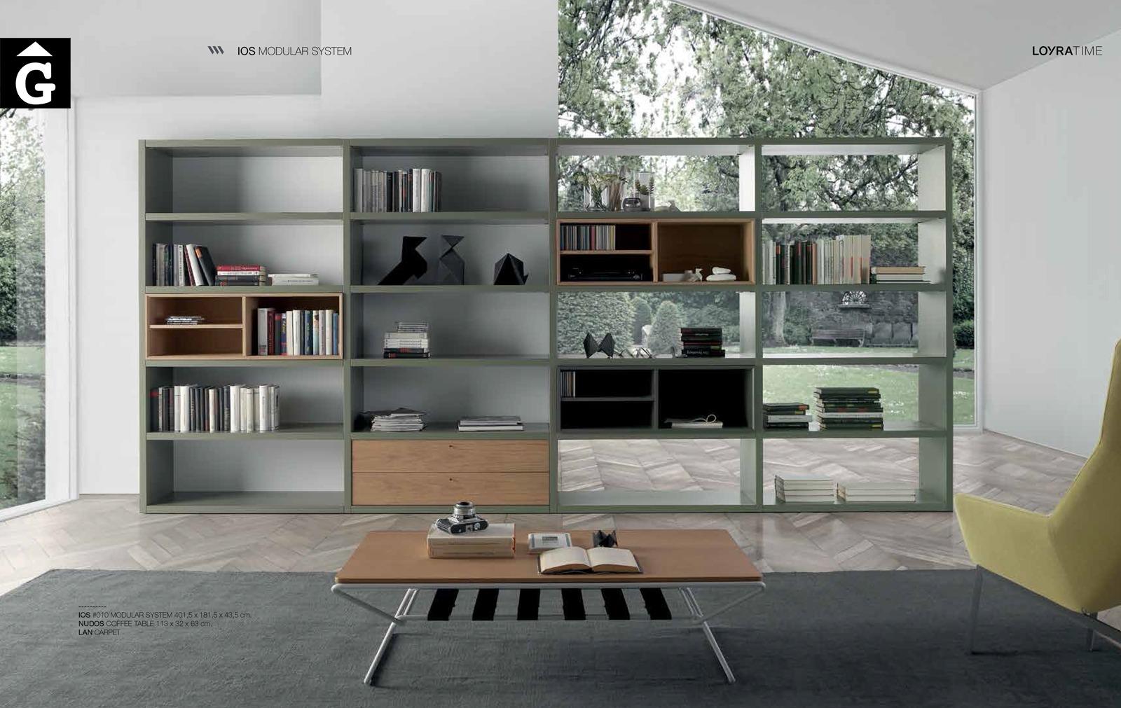 Llibreria bifacial 0 Loyra muebles by mobles Gifreu Idees per la llar moble de qualitat