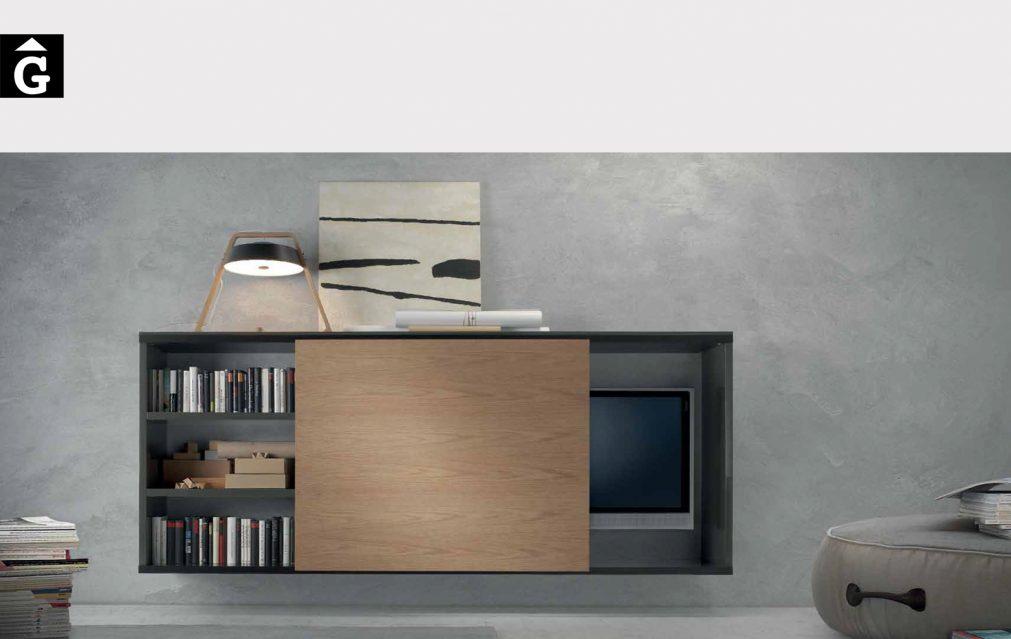 Moble Tv a paret Loyra muebles by mobles Gifreu Idees per la llar moble de qualitat