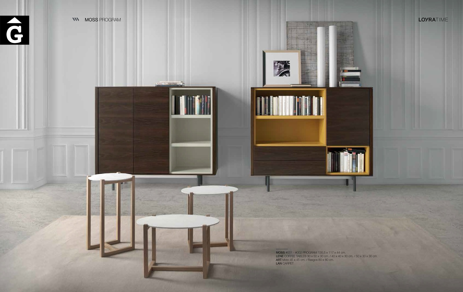 Moss Lene Loyra muebles by mobles Gifreu Idees per la llar moble de qualitat