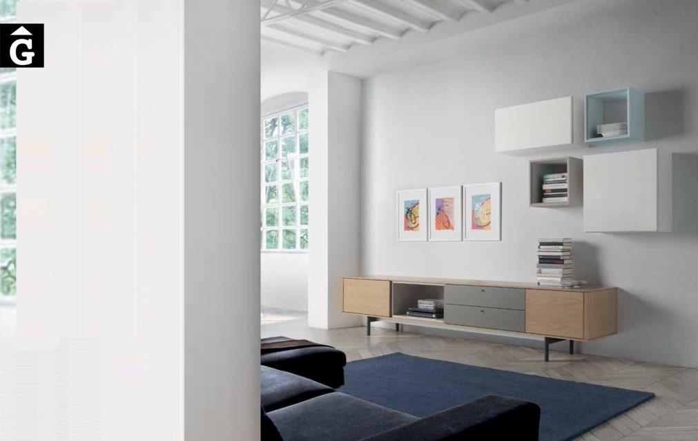 Composició moble TV 24 0 Loyra muebles by mobles Gifreu Idees per la llar moble de qualitat