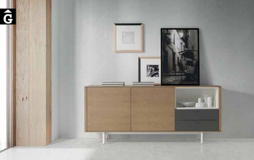 Bufet Roble essenza Loyra muebles by mobles Gifreu Idees per la llar moble de qualitat
