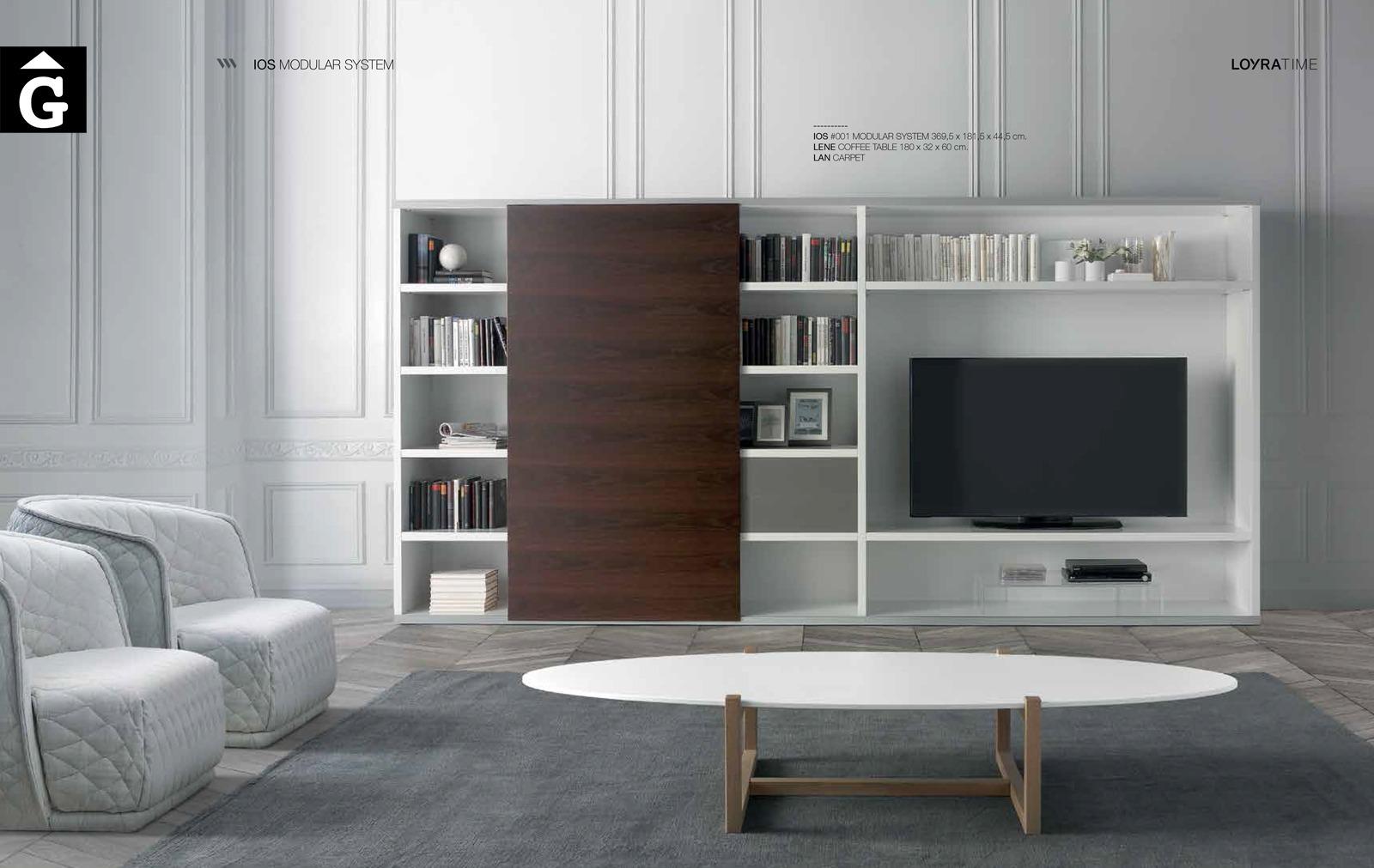 Moble TV IOS Loyra muebles by mobles Gifreu Idees per la llar moble de qualitat