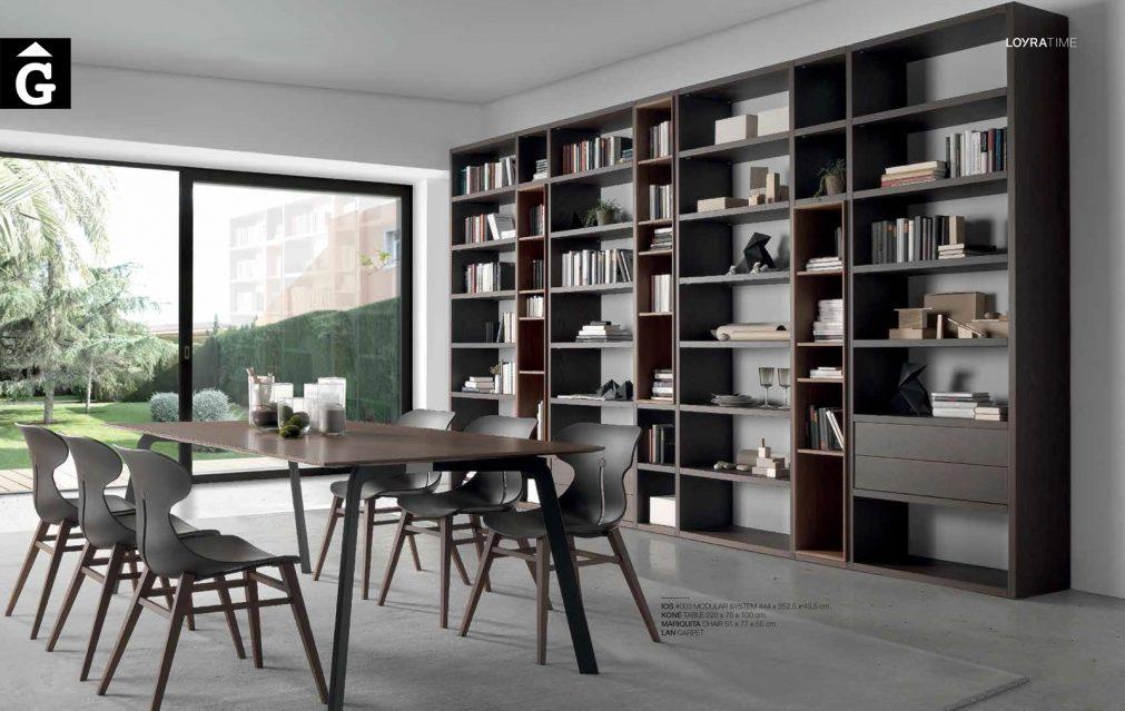 Llibreria Ios 8 Loyra muebles by mobles Gifreu Idees per la llar moble de qualitat