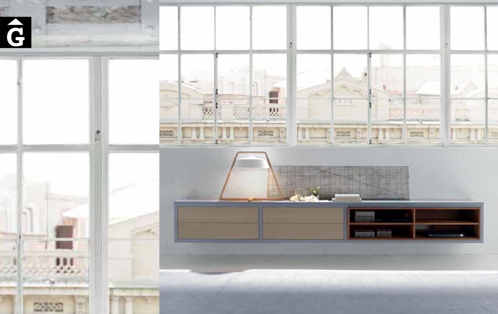 Moble aparador a paret 9 Loyra muebles by mobles Gifreu Idees per la llar moble de qualitat