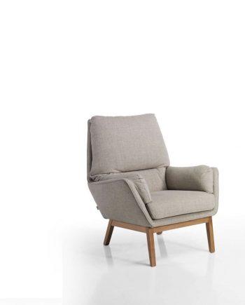 Butaca Isa Moradillo by mobles Gifreu tapisseria de qualitat sofas relax llits puff pouf chaixelongues butaques sillons