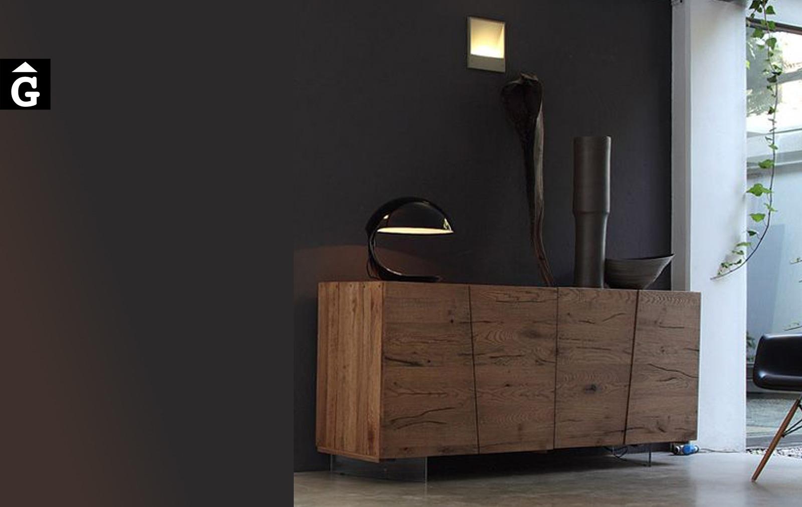 Moble bufet massis Unika M15 Devina Nais by mobles Gifreu moble massis roure disseny actual extremat qualitat premium