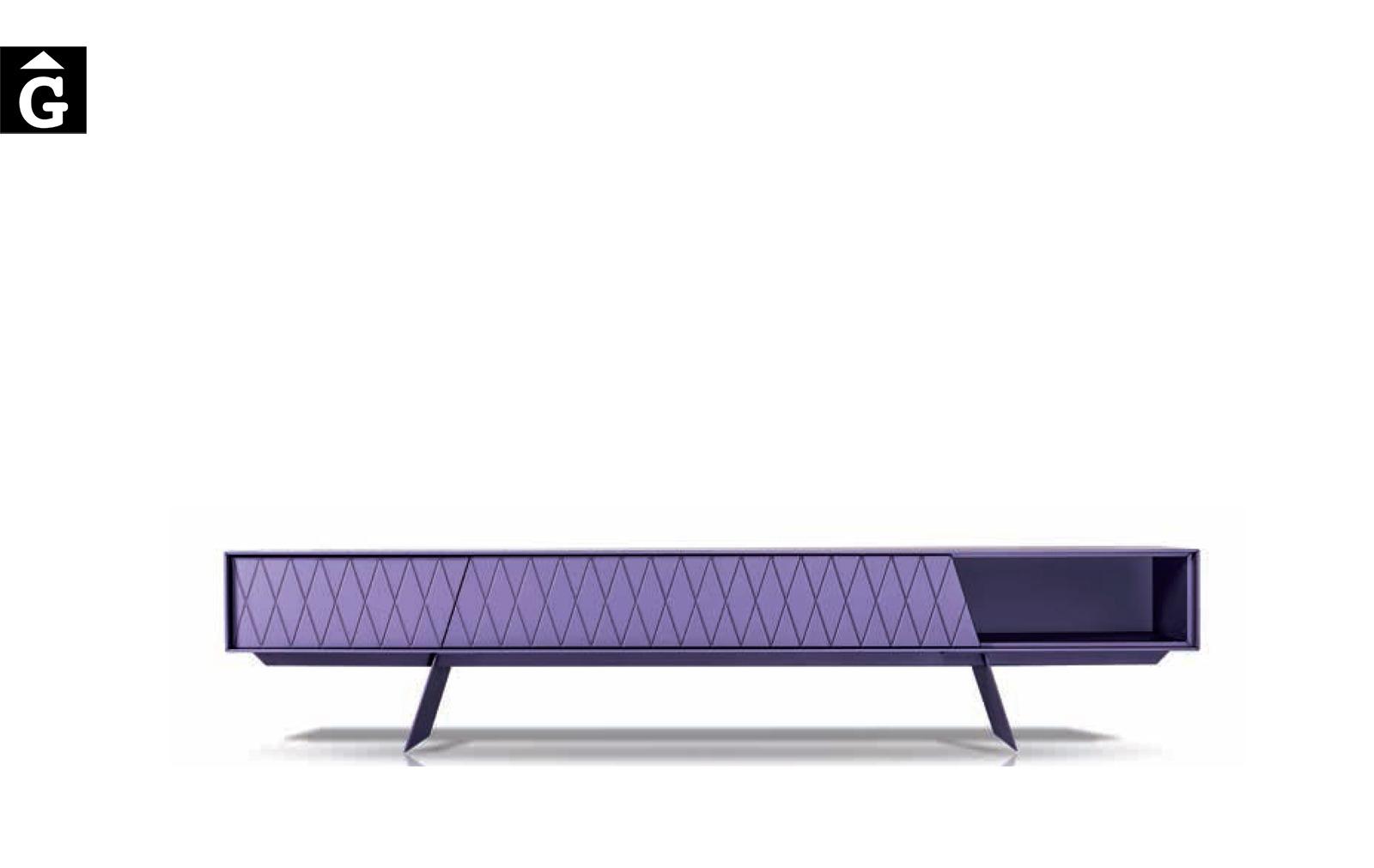 16 2 moble Tv lacat lila E-klipse al2 fabricant de mobles Grec distribuïdor mobles Gifreu