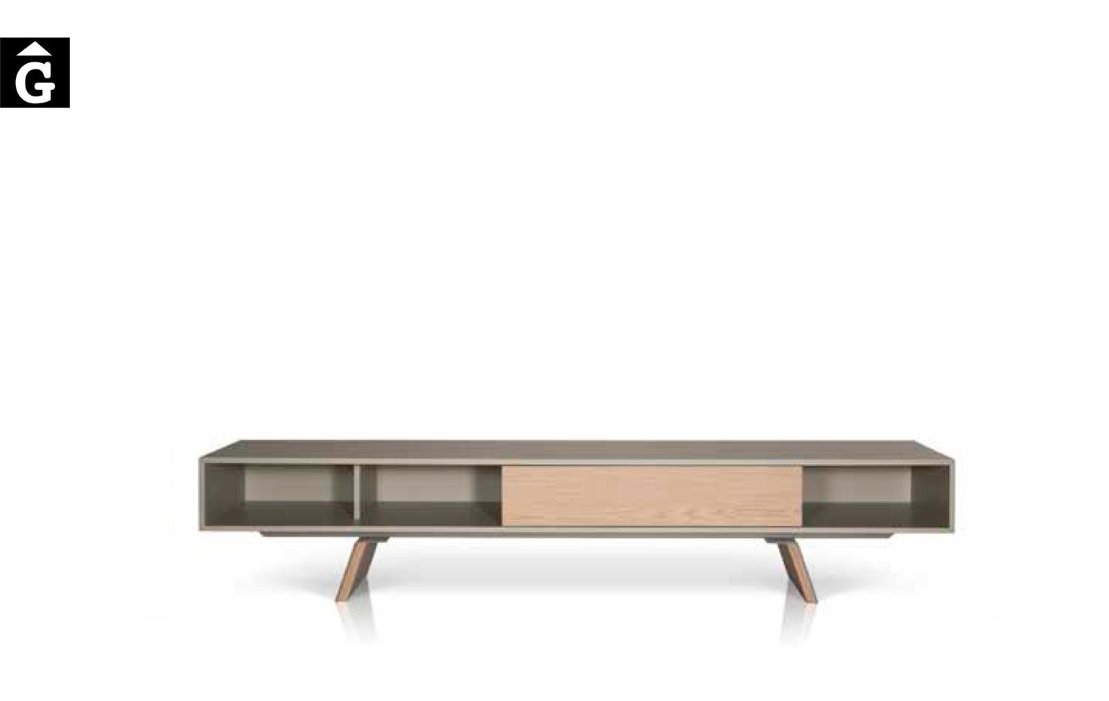 16 3 Moble TV E-klipse laca i xapa natural al2 fabricant de mobles Grec distribuïdor mobles Gifreu