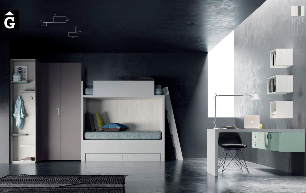 Habitació QBn 7 QB NEXT Tegar by nobles GIFREU Girona modern minim elegant atemporal