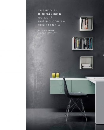 Escriptori QBn 7 QB NEXT Tegar by nobles GIFREU Girona modern minim elegant atemporal