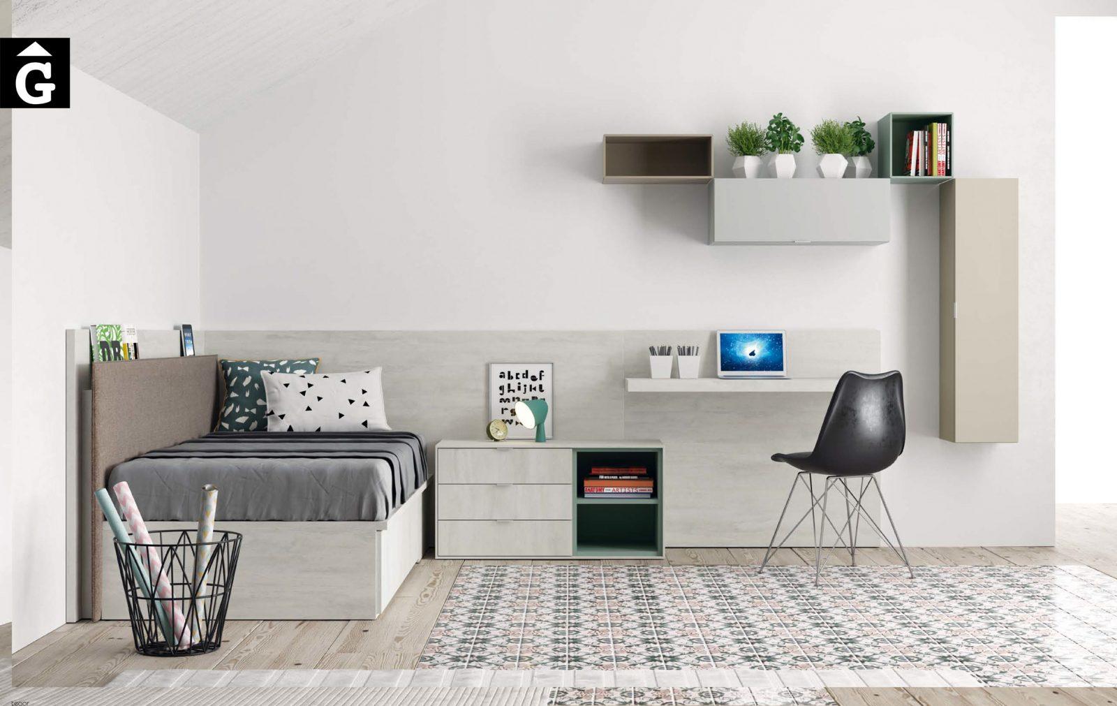 25 Habitació llit calaixos i arcó QB NEXT Tegar by nobles GIFREU Girona modern minim elegant atemporal