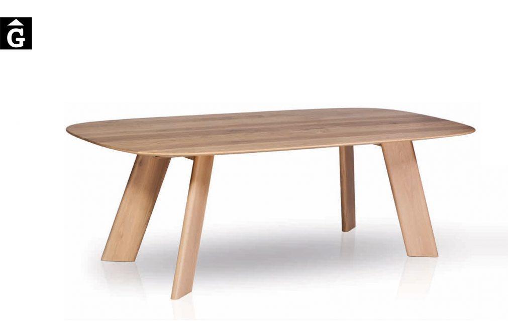 Alhambra taula canto arrodonit 30 2 Taula menjador Alhambra al2 fabricant de mobles Grec distribuïdor mobles Gifreu
