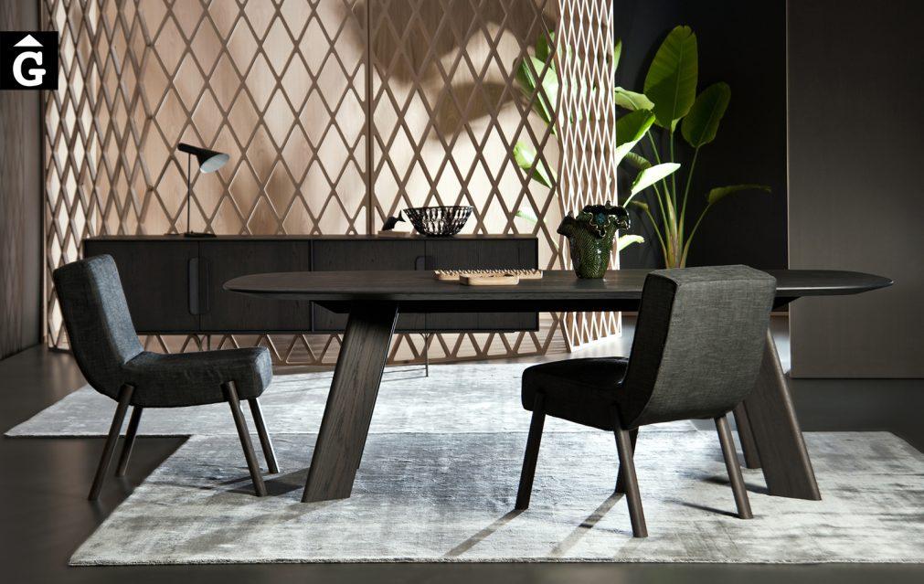 30 3 Alhambra taula menjador roure tenyit fosc al2 fabricant de mobles Grec distribuïdor mobles Gifreu