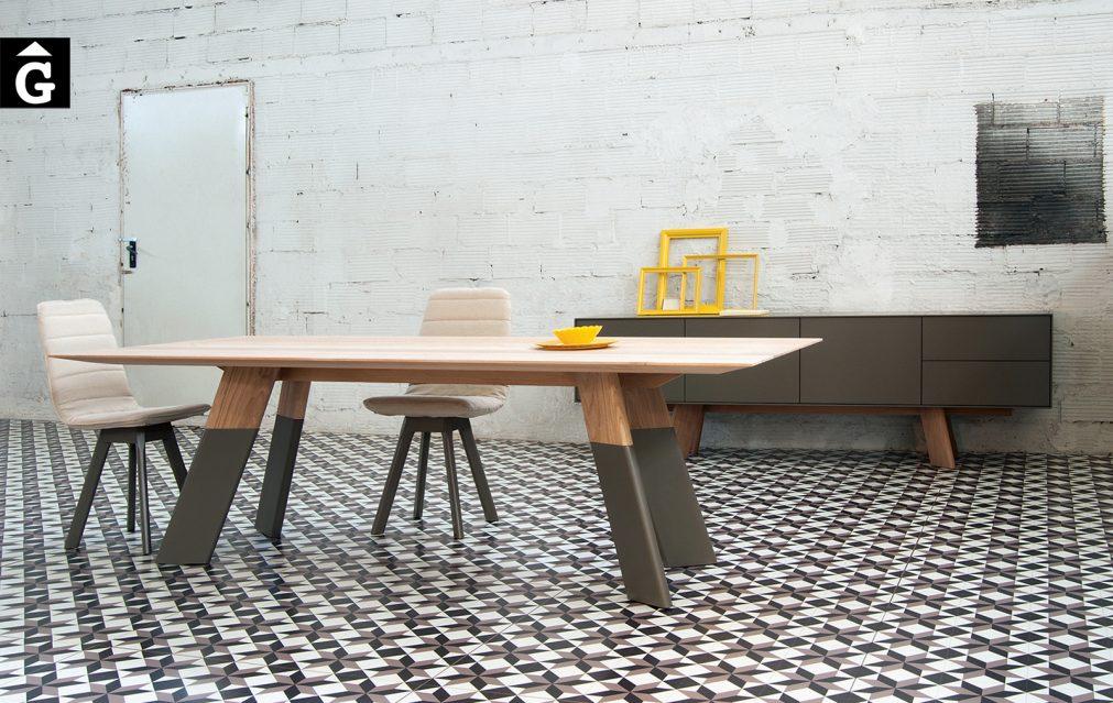 30 6 Taula gran Alhambra pota biacabat al2 fabricant de mobles Grec distribuïdor mobles Gifreu