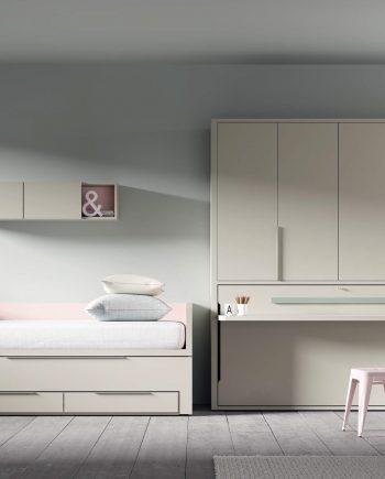 Llit lliscant QBn. NEXT Tegar by nobles GIFREU Girona modern minim elegant atemporal