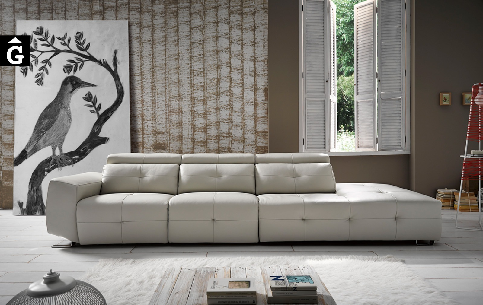 Zaira sofà terminal de Pedro Ortiz tapizados by mobles Gifreu sofas relax
