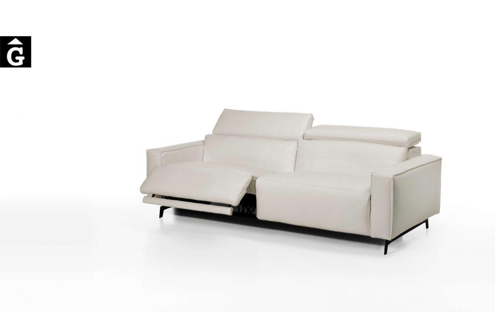 Shira sofà relax 3places 2 motors. Moradillo by mobles Gifreu tapisseria de qualitat sofas relax llits puff pouf chaixelongues butaques sillons