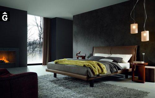 Llit entapissat Pho de Moradillo llit entapissats per mobles Gifreu