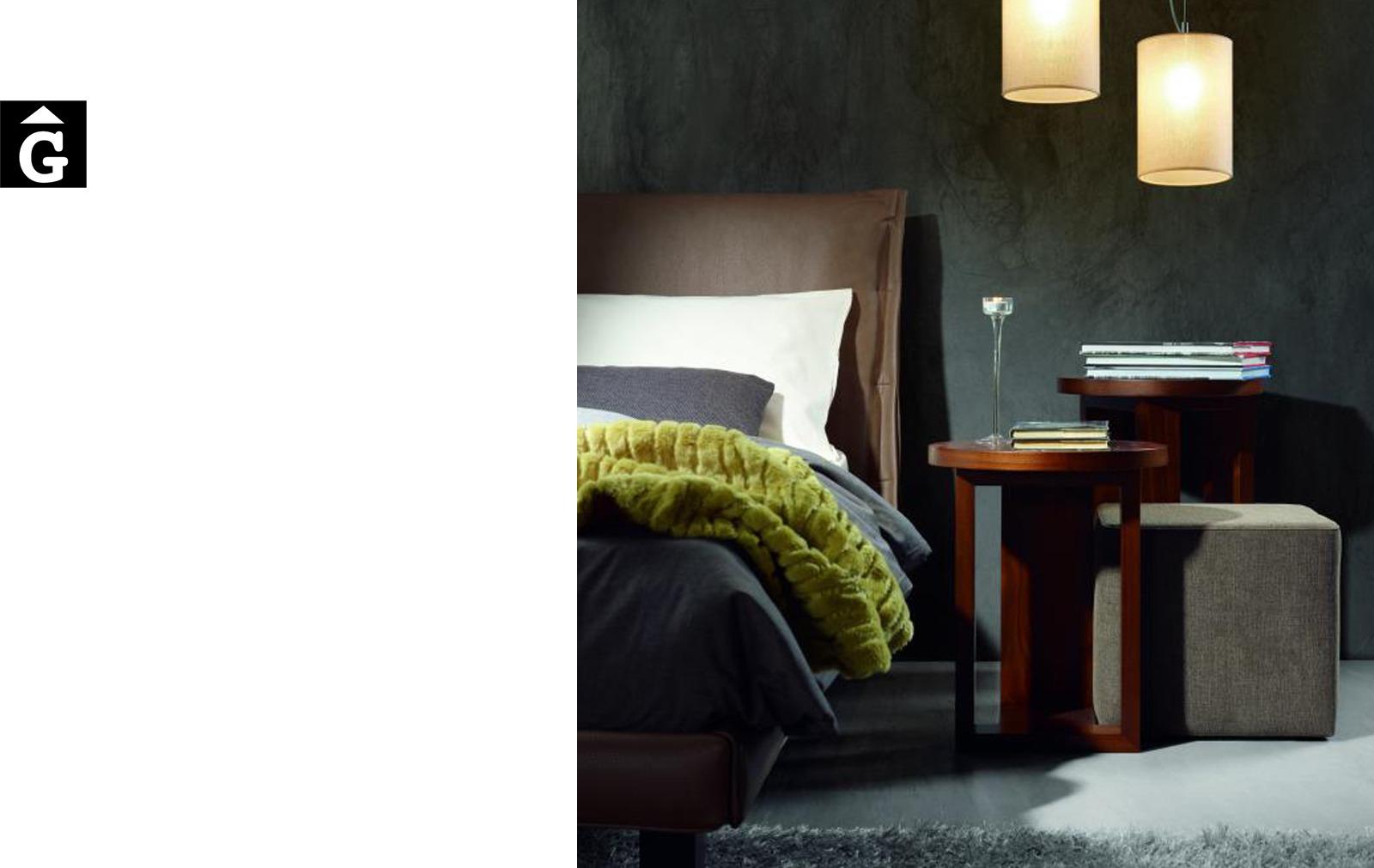 Rho llit entapissat frontal detall Moradillo llit entapissats per mobles Gifreu