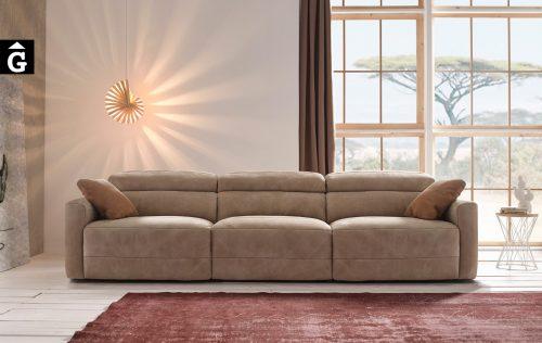 Yaiza sofà braç estret Pedro Ortiz tapisseria by mobles Gifreu sofas relax
