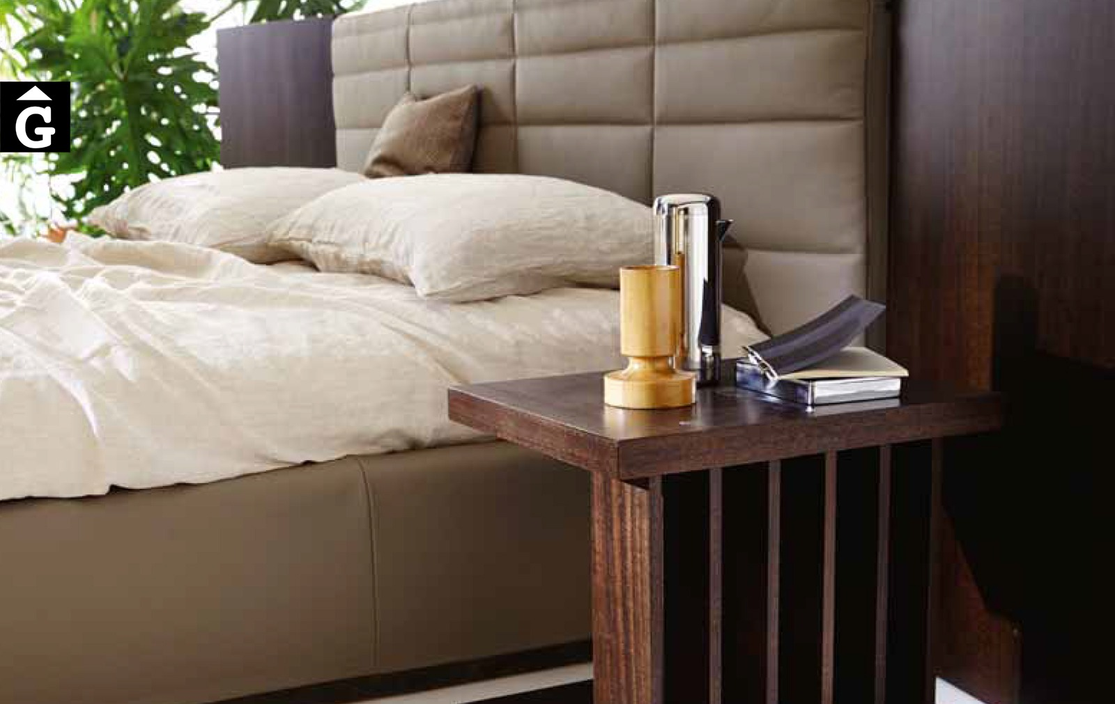 34 1 Grandanlogo detall tauleta – Ditre Italia llits entapissats disseny i qualitat alta by mobles Gifreu
