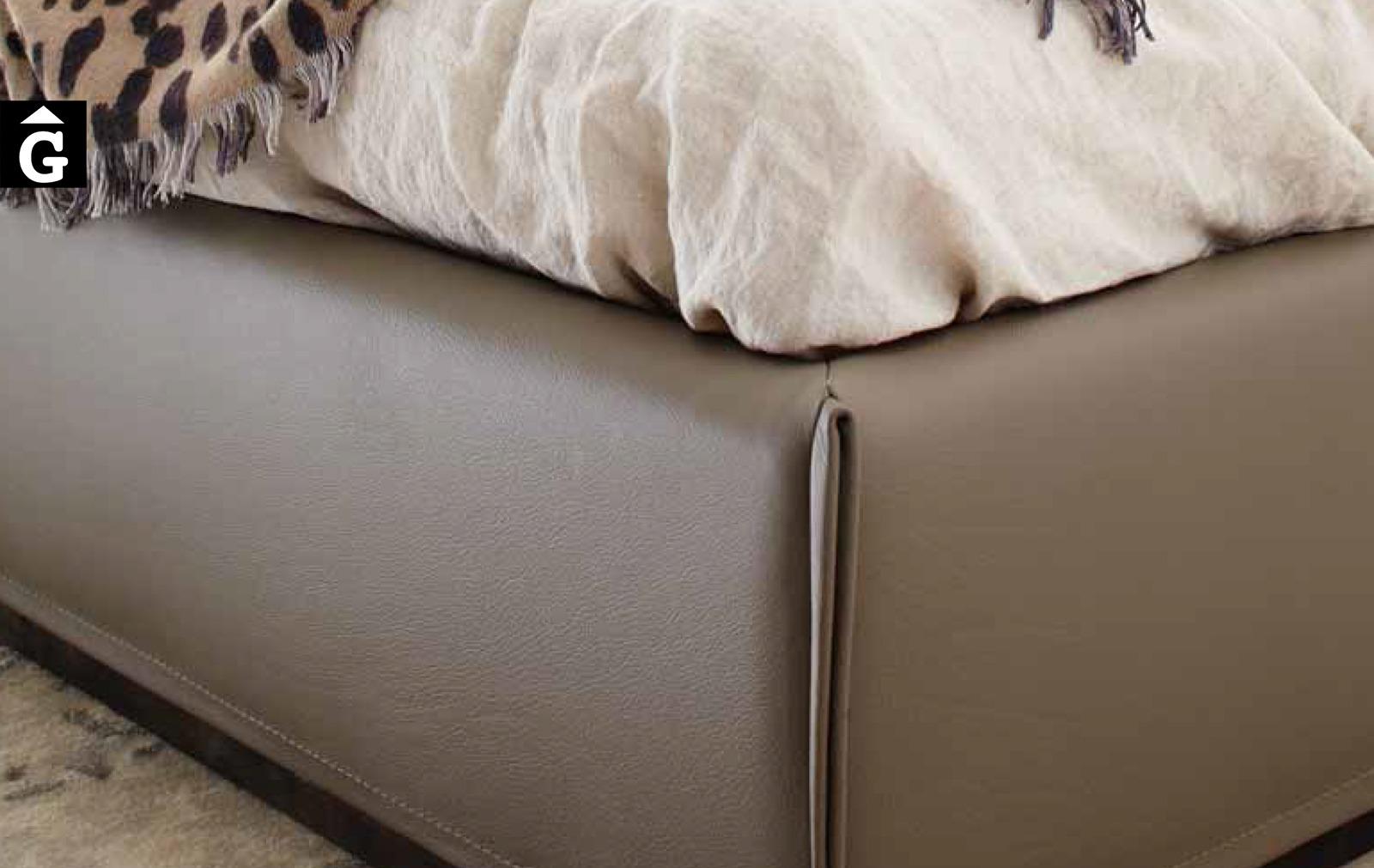 35 0 Grandanlogo detall aro llit entapissat – Ditre Italia llits entapissats disseny i qualitat alta by mobles Gifreu