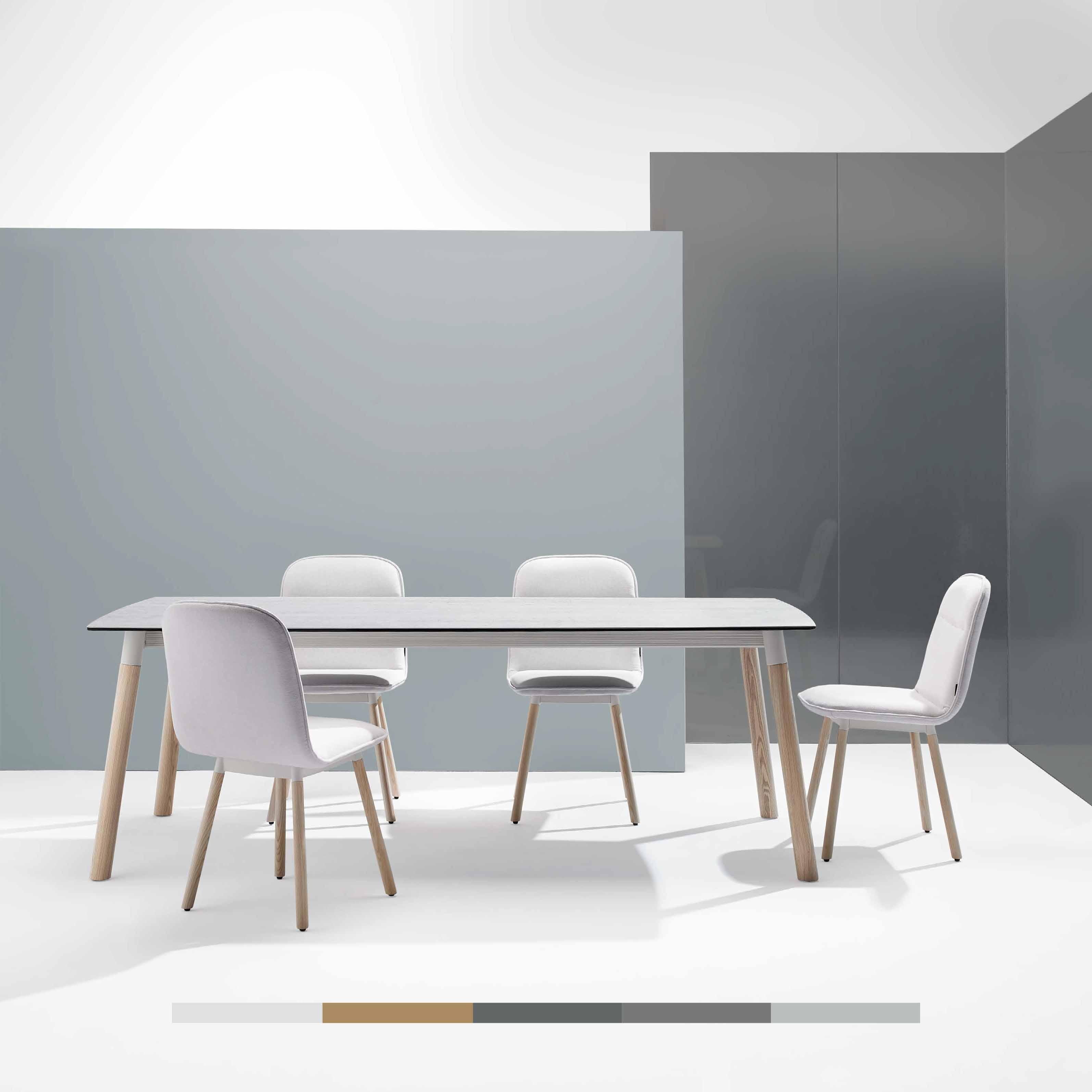 Mobliberica taules menjador i cadires. Taules fixes i extensibles de disseny