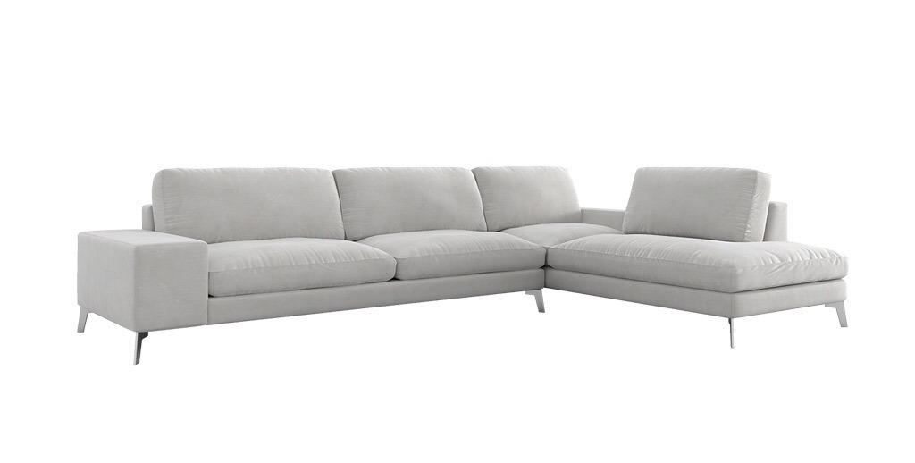 Moradillo sofà Zow Sofà potes metall qualitat suau disseny