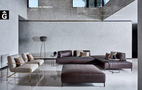 Sofà Sanders air elegance sofa - Ditre Italia Sofas disseny i qualitat alta by mobles Gifreu