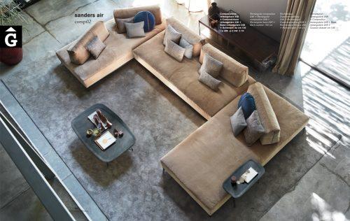 Sanders Air sofà - Ditre Italia Sofas disseny i qualitat alta by mobles Gifreu