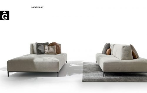 Sanders air chaiselongue sofà - Ditre Italia Sofas disseny i qualitat alta by mobles Gifreu