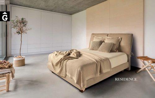 Residence llit entapissat Beds Astral Nature descans qualitat natural i salut junts per mobles Gifreu
