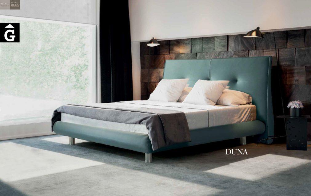 Duna Llit entapissat Beds Astral Nature descans qualitat natural i salut junts per mobles Gifreu