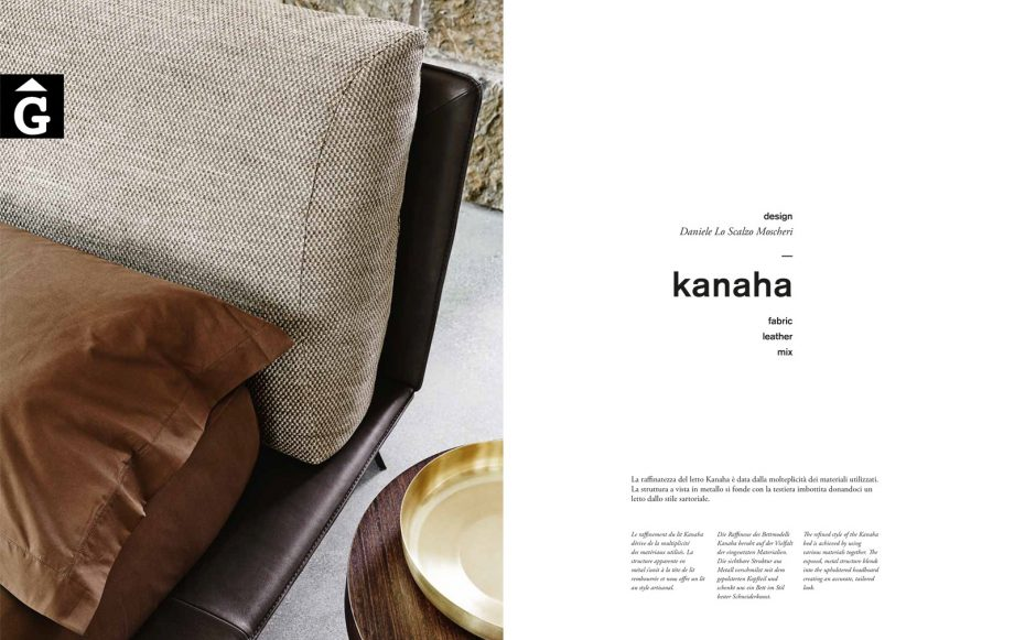 Kanaha llit entapissat portada - Ditre Italia llits entapissats disseny i qualitat alta by mobles Gifreu