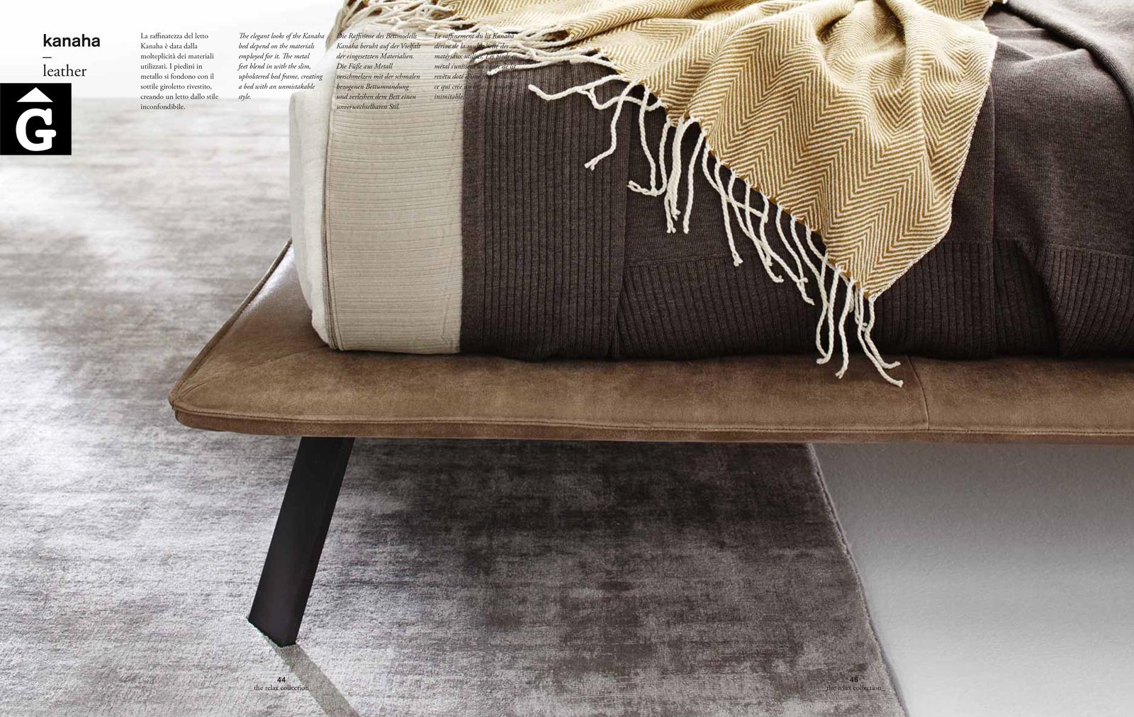Kanaha llit entapissat detall peu - Ditre Italia llits entapissats disseny i qualitat alta by mobles Gifreu