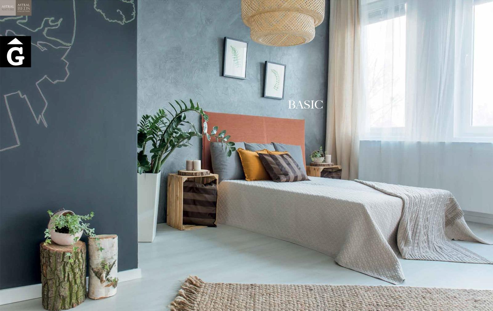 Basic llit entapissat Beds Astral Nature descans qualitat natural i salut junts per mobles Gifreu