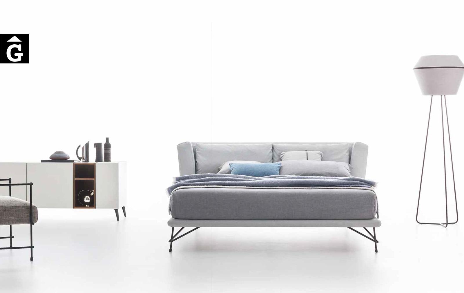 8 Lennox llit entapissat teixit – Ditre Italia llits entapissats disseny i qualitat alta by mobles Gifreu