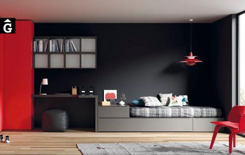 Vulcano llit niu i calaix moble habitacions Juvenils - JJP by mobles Gifreu