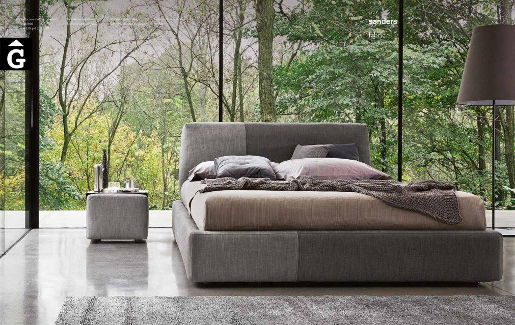 Sanders llit entapissat imatge - Ditre Italia llits entapissats disseny i qualitat alta by mobles Gifreu