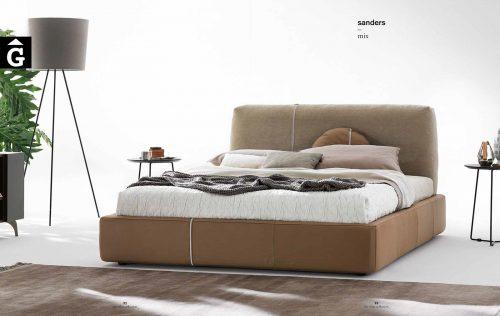 Sander llit entapissat mix imatge - Ditre Italia llits entapissats disseny i qualitat alta by mobles Gifreu