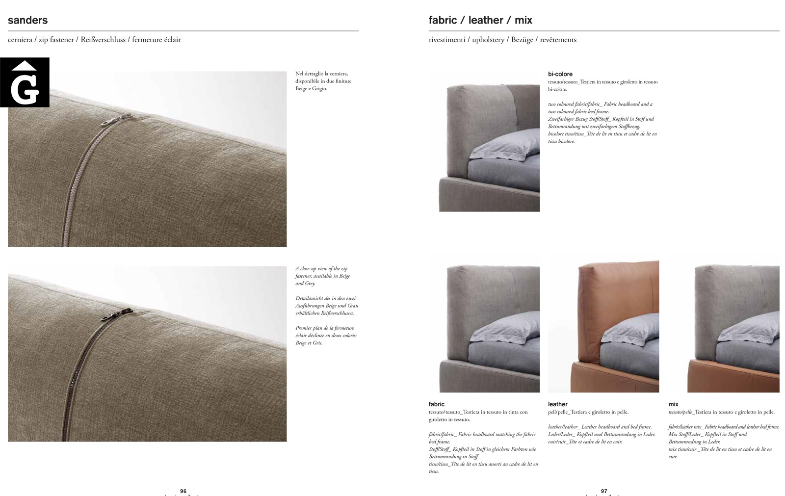 Sanders llit entapissat opcions - Ditre Italia llits entapissats disseny i qualitat alta by mobles Gifreu