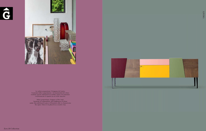 Detall moble massis roure Zero16 molt color by mobles Gifreu