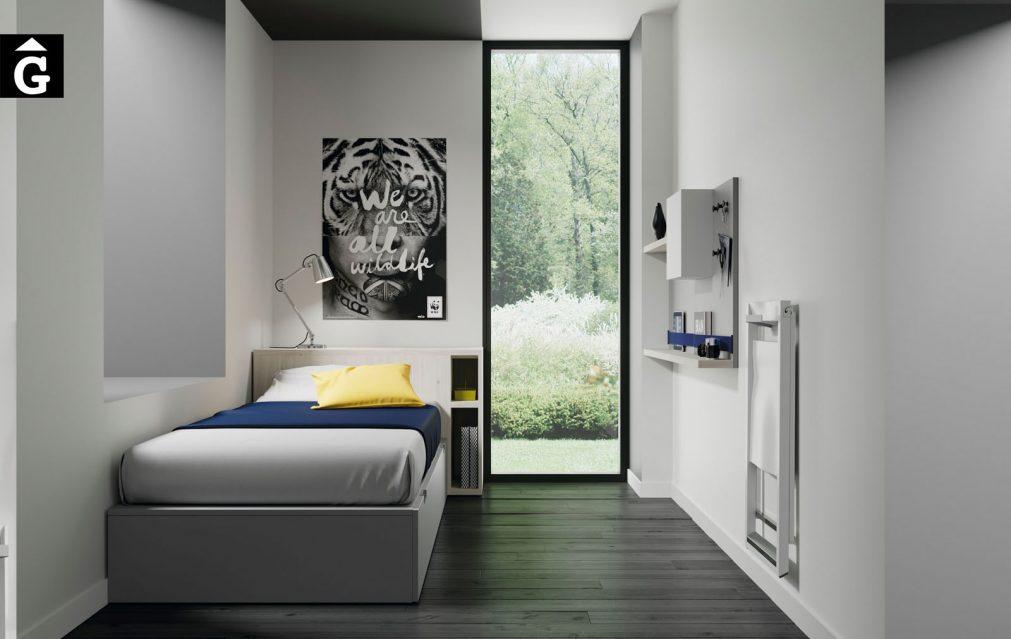 Habitació llit niu Infinity 02 Jotajotape jjp by mobles Gifreu