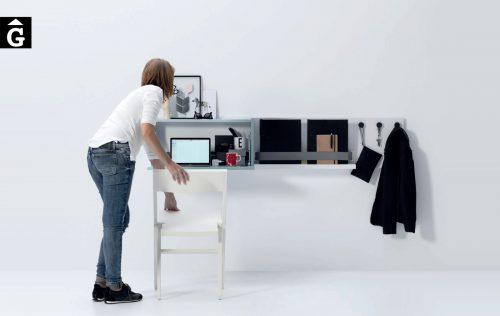 Moble escriptori abatible penjat a paret Infinity 2 Jotajotape jjp by mobles Gifreu
