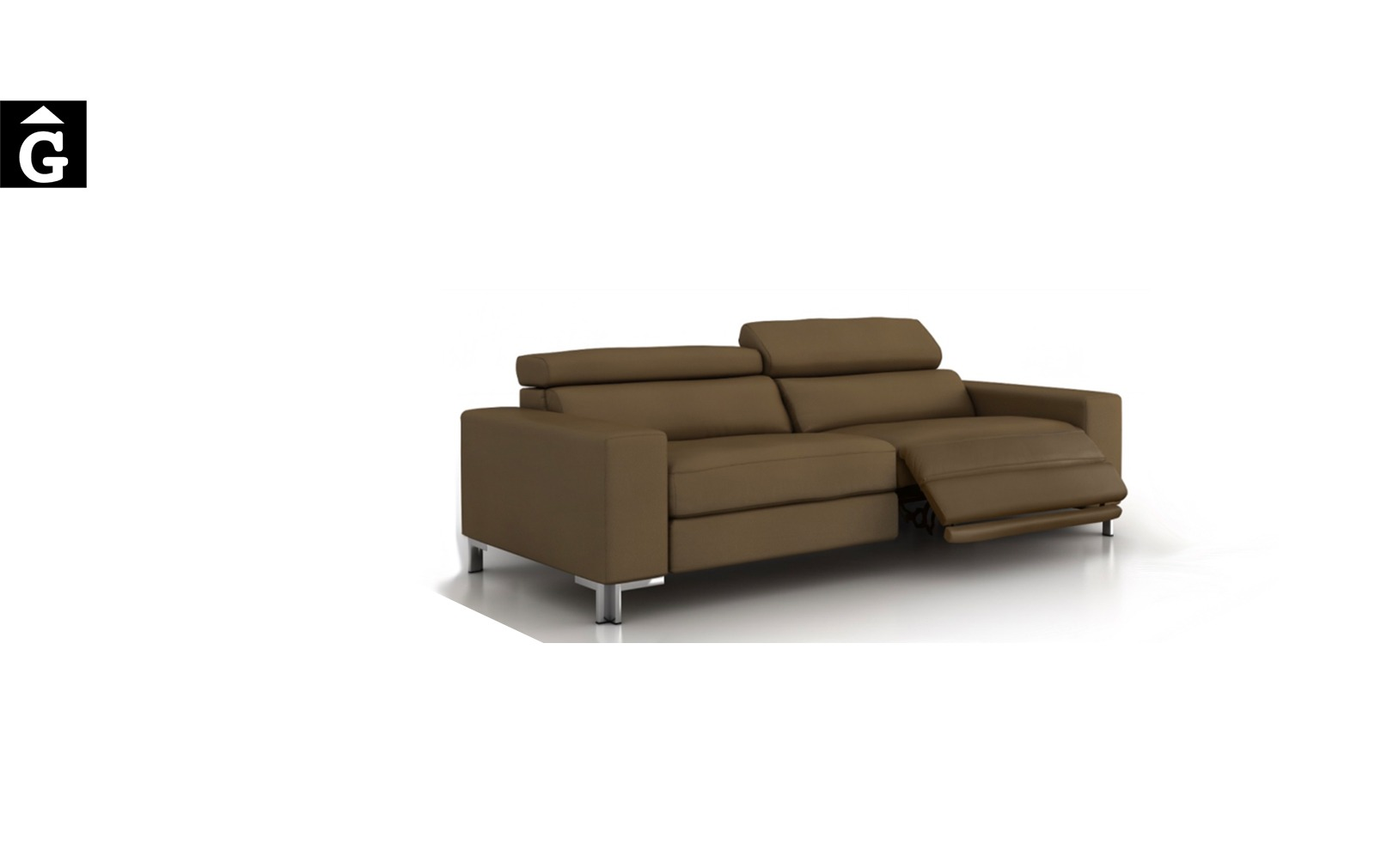 Suma sofà relax pota alta Tapiza Moradillo per mobles Gifreu tapisseria de qualitat sofas relax llits puff pouf chaixelongues butaques sillons
