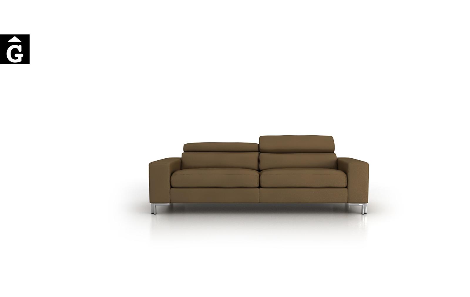 Suma sofà relax pota alta mecanisme relax motor Tapizados Moradillo per mobles Gifreu tapisseria de qualitat sofas relax llits puff pouf chaixelongues butaques sillons