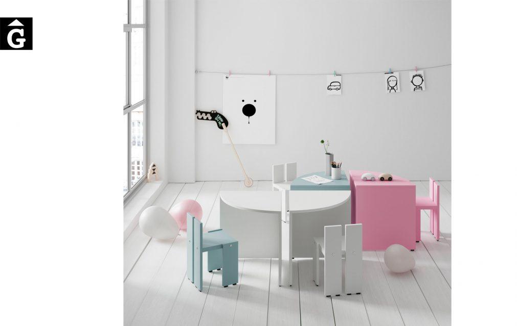 Taules i cadires infantils Pukka 5 Infinity 2 Jotajotape jjp by mobles Gifreu